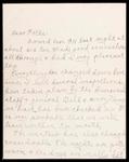 Wesley F. Diedrich First World War Correspondence #58