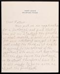 Wesley F. Diedrich First World War Correspondence #60