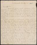 Wesley F. Diedrich First World War Correspondence #70