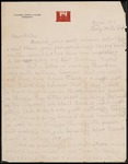 Wesley F. Diedrich First World War Correspondence #71