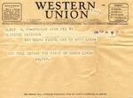 Walter Keeler Correspondence #001 by Walter Keeler