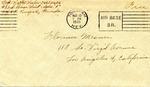Walter Keeler Correspondence #010