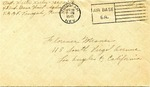 Walter Keeler Correspondence #027