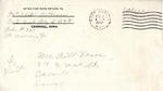 William Vasos World War Two Correspondence #04