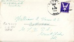 William Vasos World War Two Correspondence #06