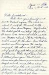 William Vasos World War Two Correspondence #07