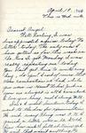William Vasos World War Two Correspondence #09