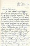 William Vasos World War Two Correspondence #10