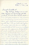 William Vasos World War Two Correspondence #11