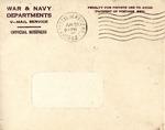 William Vasos World War Two Correspondence #16