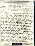 William Vasos World War Two Correspondence #17