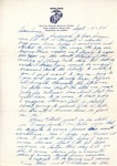 William Vasos World War Two Correspondence #21