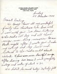 William Vasos World War Two Correspondence #33