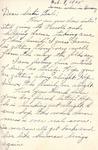 William Vasos World War Two Correspondence #36