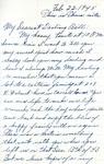 William Vasos World War Two Correspondence #37