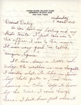 William Vasos World War Two Correspondence #42