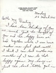 William Vasos World War Two Correspondence #44