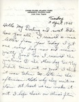 William Vasos World War Two Correspondence #45