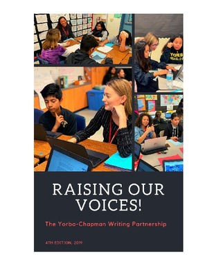 Yorba-Chapman Writing Partnership Anthology of Journalistic